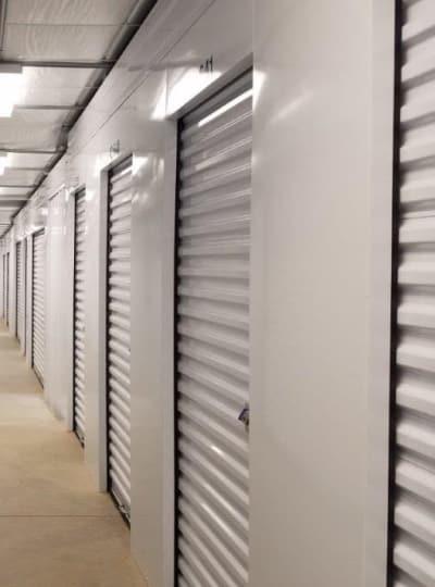 Indoor storage units at Cardinal Self Storage in Graham, North Carolina
