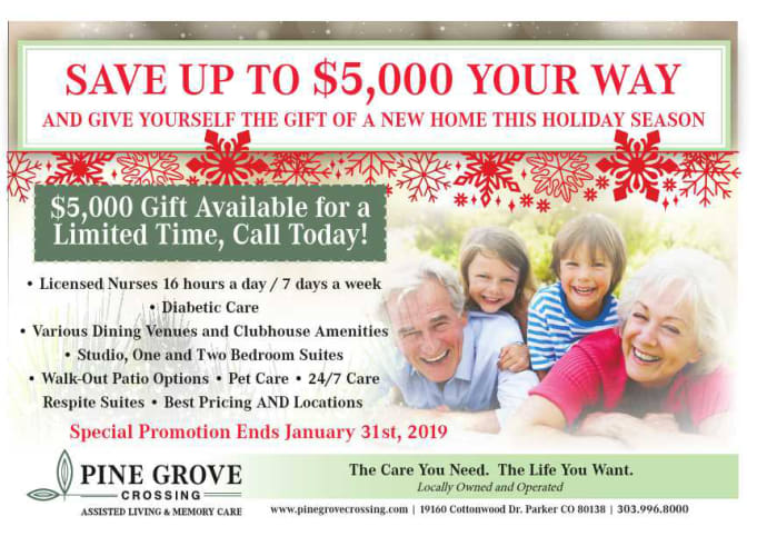 Holiday special flyer