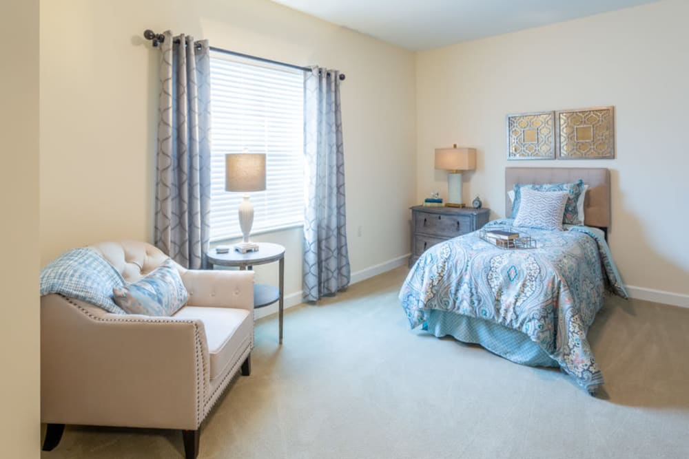 Studio apartment at The Harmony Collection at Roanoke - Assisted Living in Roanoke, Virginia