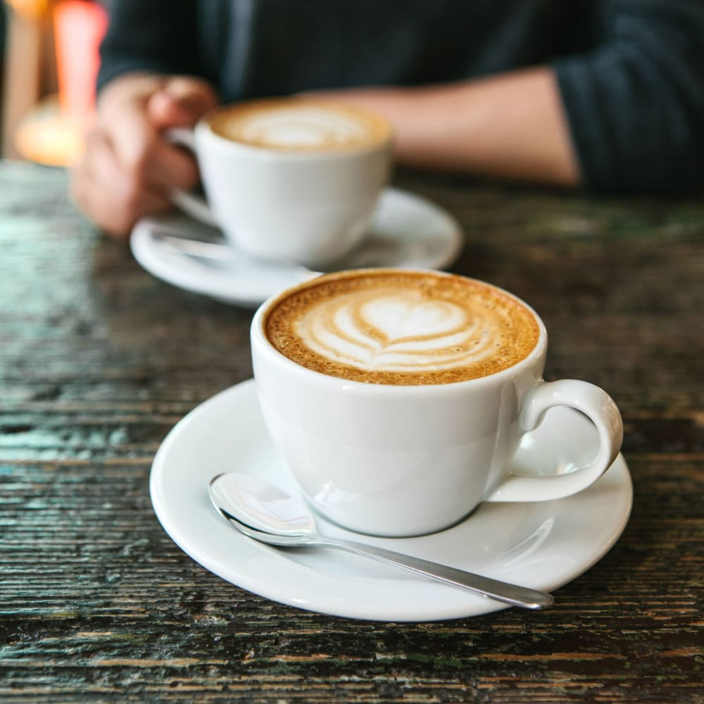 Swing by Brass Tacks Coffee Co. for your morning latte near The Jaxon in Jacksonville, Florida