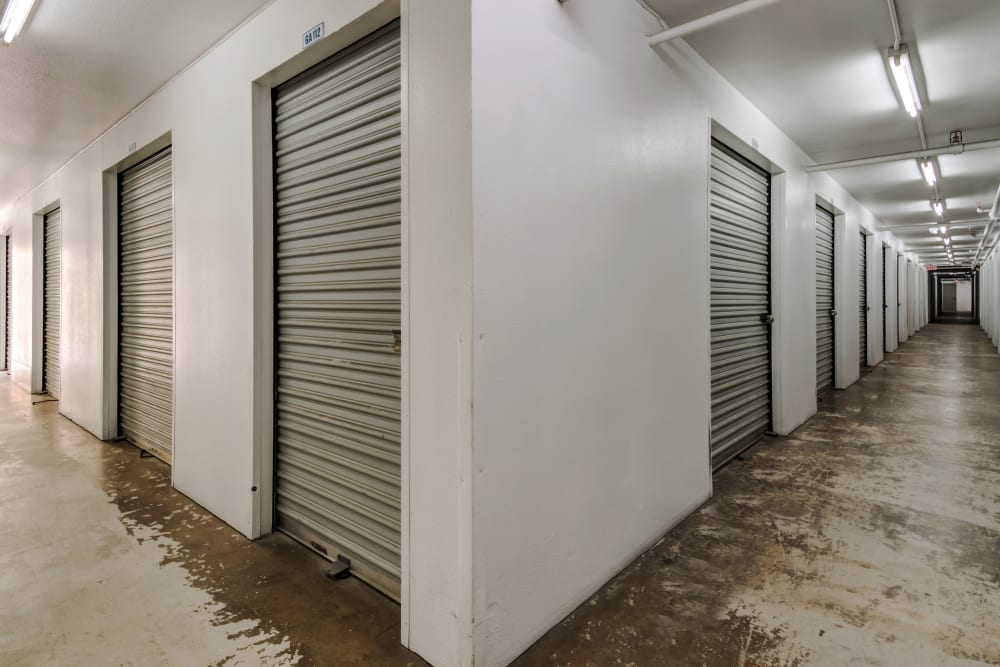 Variety of interior units at Encinitas Self Storage