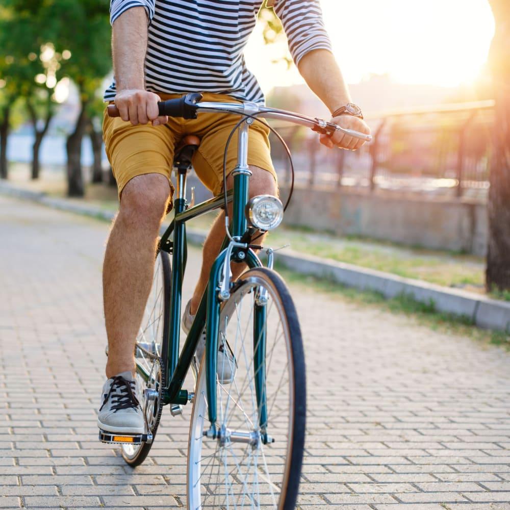 Ride your bike near The Jaxon in Jacksonville, Florida