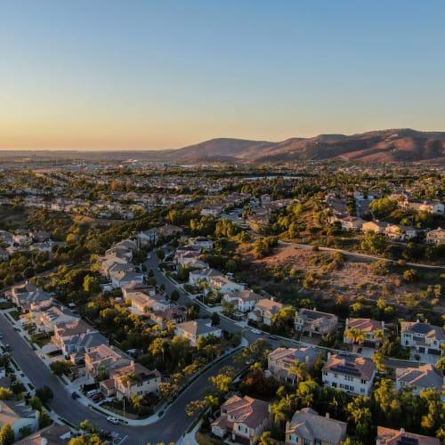 A view of San Diego where Encinitas Self Storage in Encinitas, California is located