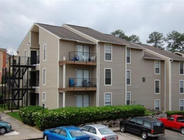 Exterior of Cornerstone Apartments in Huntsville, Texas