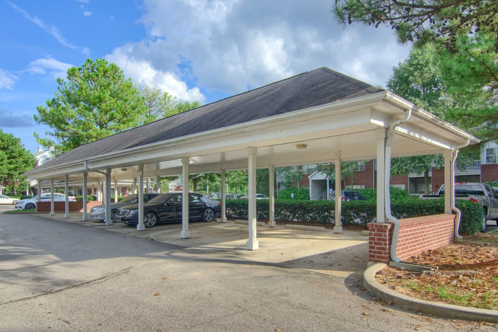 Carports at Enclave at Wolfchase in Cordova, Tennessee