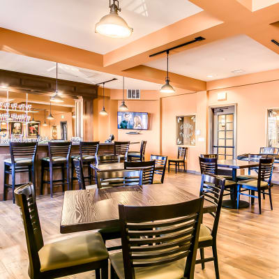 Dilly Dally's onsite Irish pub at Affinity Living Communities