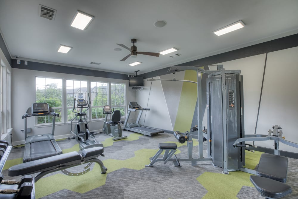 Fitness Center at Reserve at South Creek