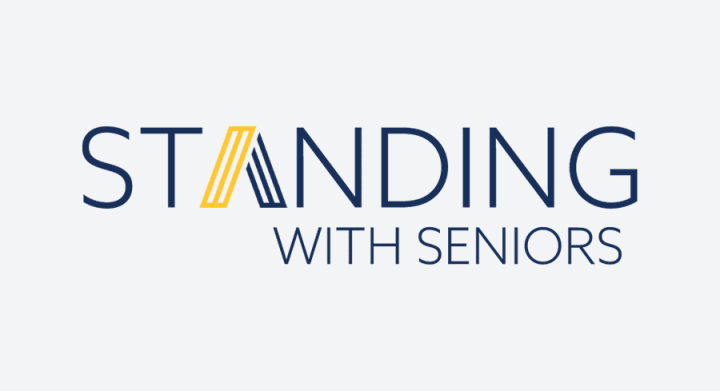 argentum senior living - standing with seniors campaign image link