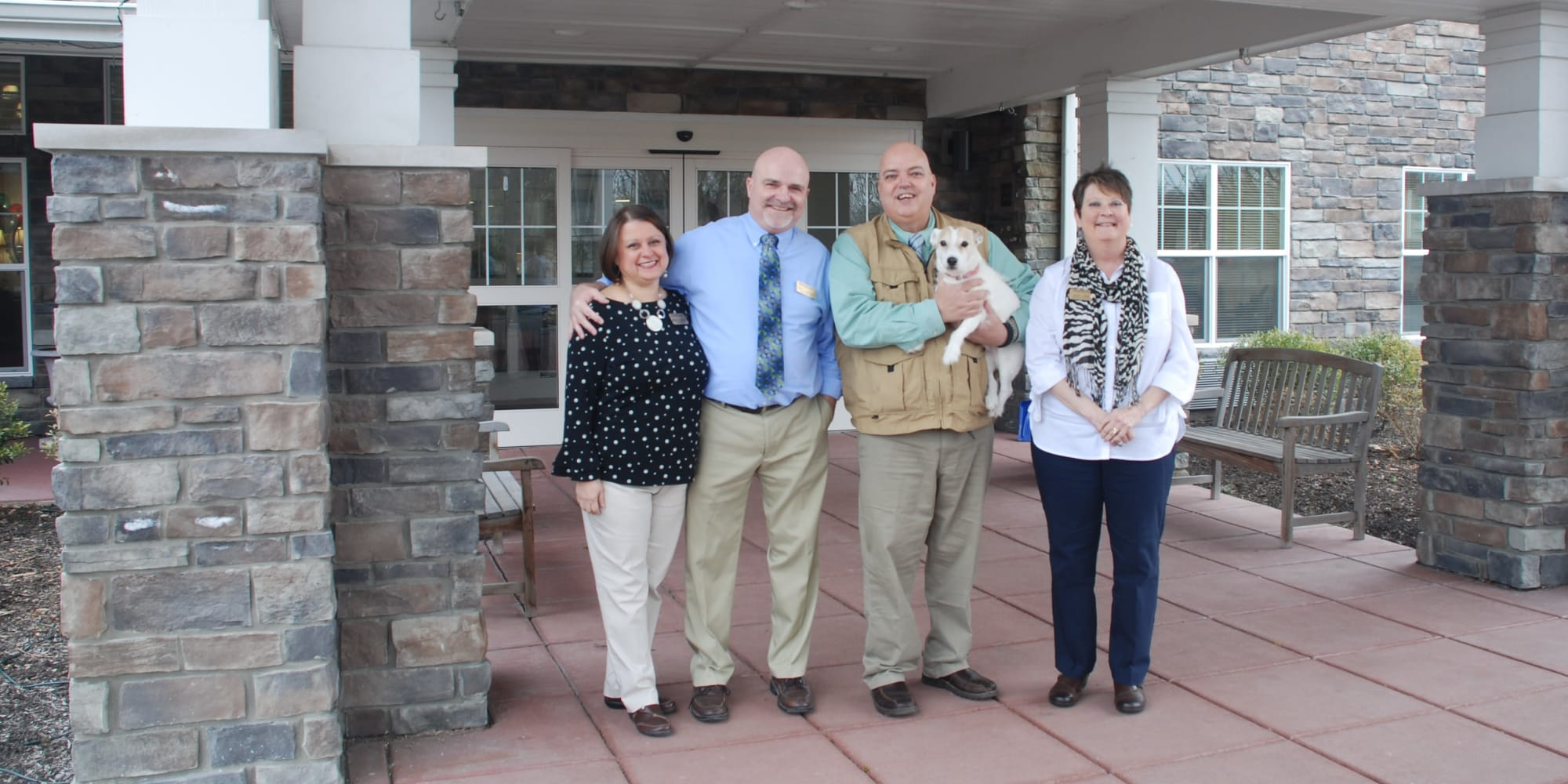 Management team at Northridge Gracious Retirement Living in Fishers, Indiana