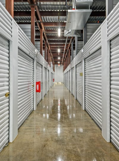 View the unit sizes and prices at Storage 365 in Euless, Texas