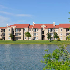 Neighborhood at Crescent Cove at Lakepointe in Lewisville, Texas
