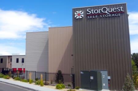 Exterior building at StorQuest Self Storage in Reno