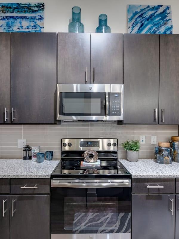 Kitchen at Bellrock Upper North in Haltom City, Texas