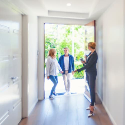 Couple viewing at home at CAPREIT in Bethesda, Maryland
