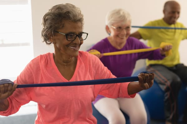 Fitness programs for Michigan city senior living