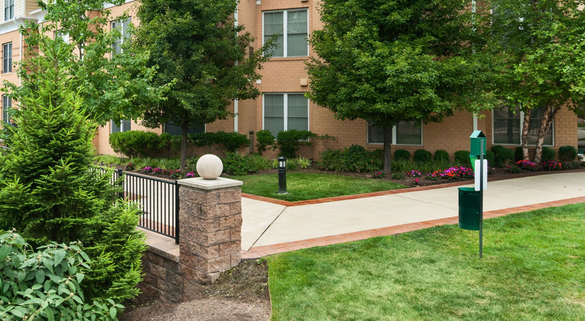 Pet-friendly apartments at Sofi at Morristown Station in Morristown, New Jersey