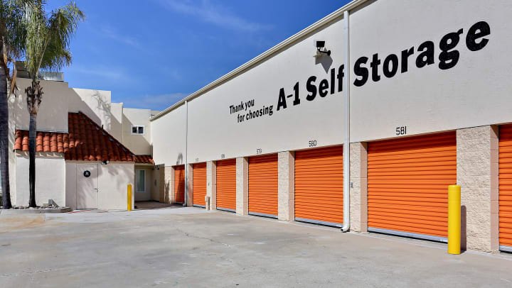Drive up self storage units