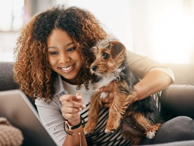 Learn about our pet policy at Oaks White Rock in Dallas, Texas