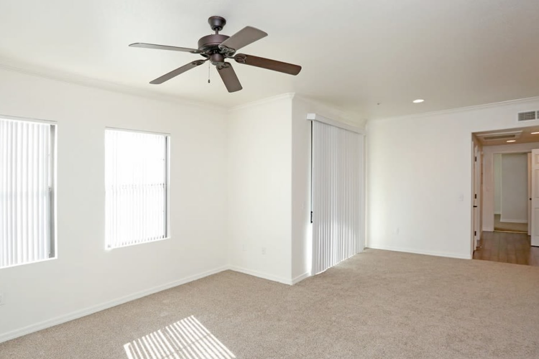 Spacious floor plan at San Marquis in Tempe, Arizona