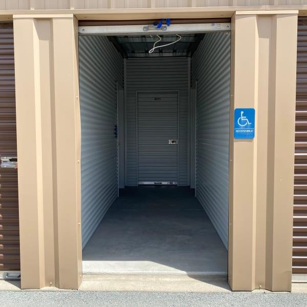 Handicap accessible storage units at StorQuest Self Storage in Sparks, Nevada