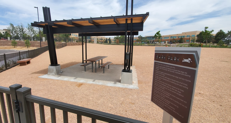 Bark park at FalconView