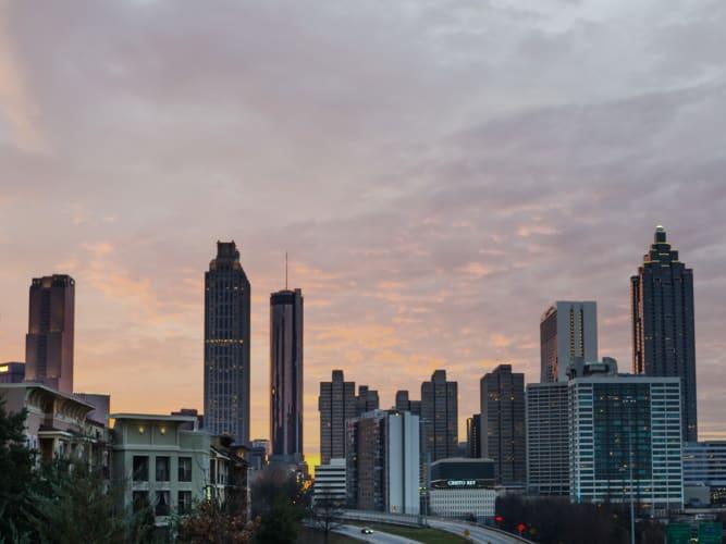 High rise buildings in Atlanta, GA near Altitude