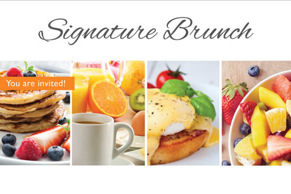 Signature brunch at The Commons at Elk Grove in Elk Grove, California