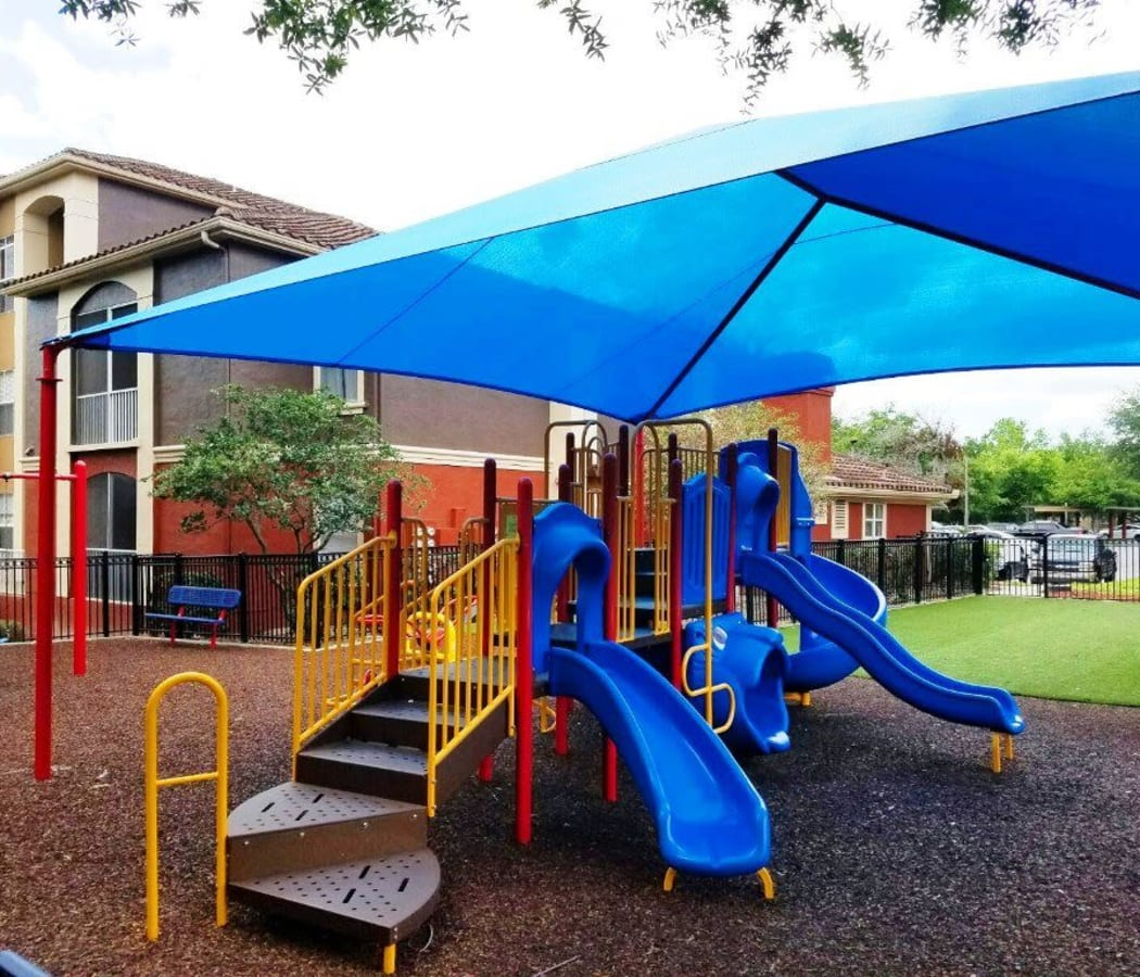 Resident playground for children who live at Amara at MetroWest in Orlando, Florida