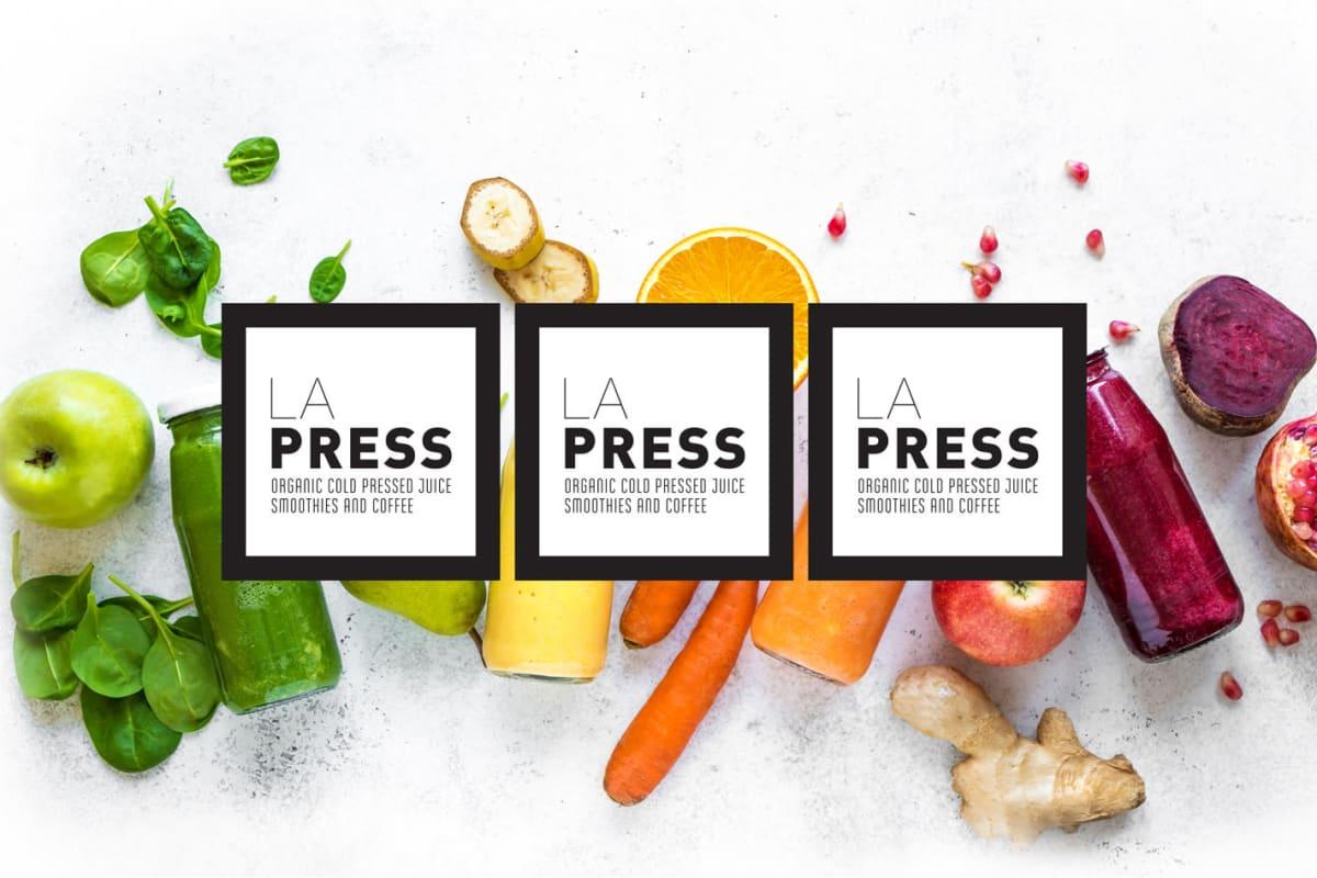 LA Press Organic Juicery onsite at Esprit Marina del Rey in Marina del Rey, California