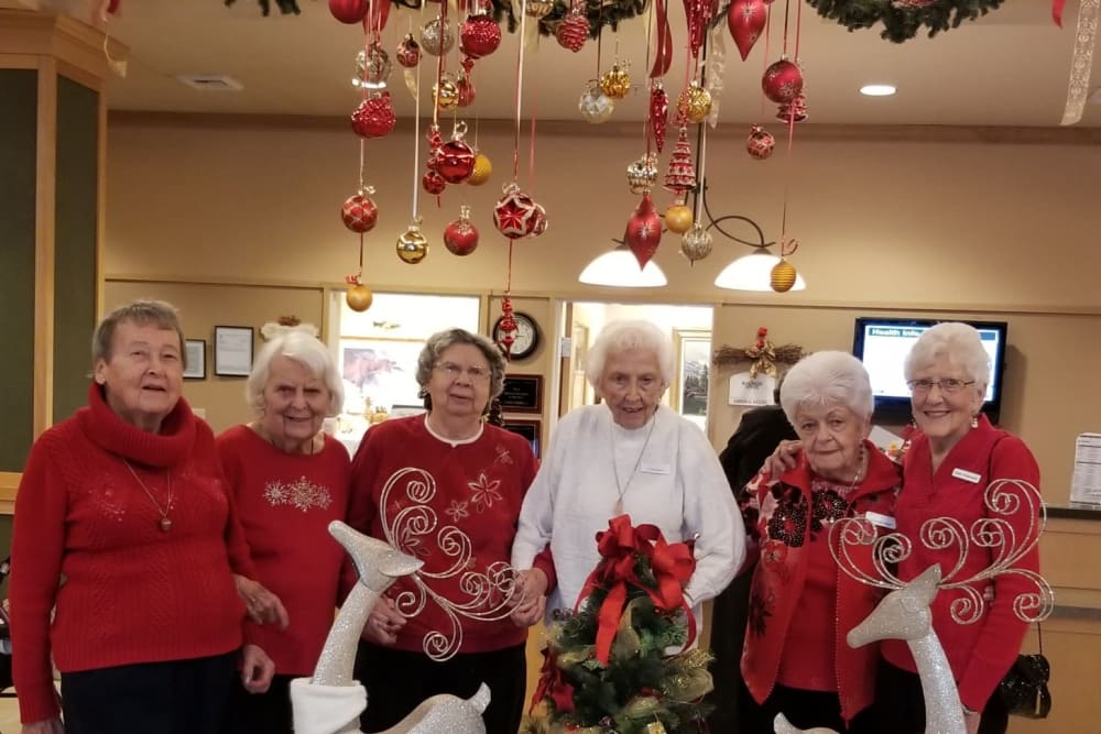 The ladies at our senior living community in Renton, WA