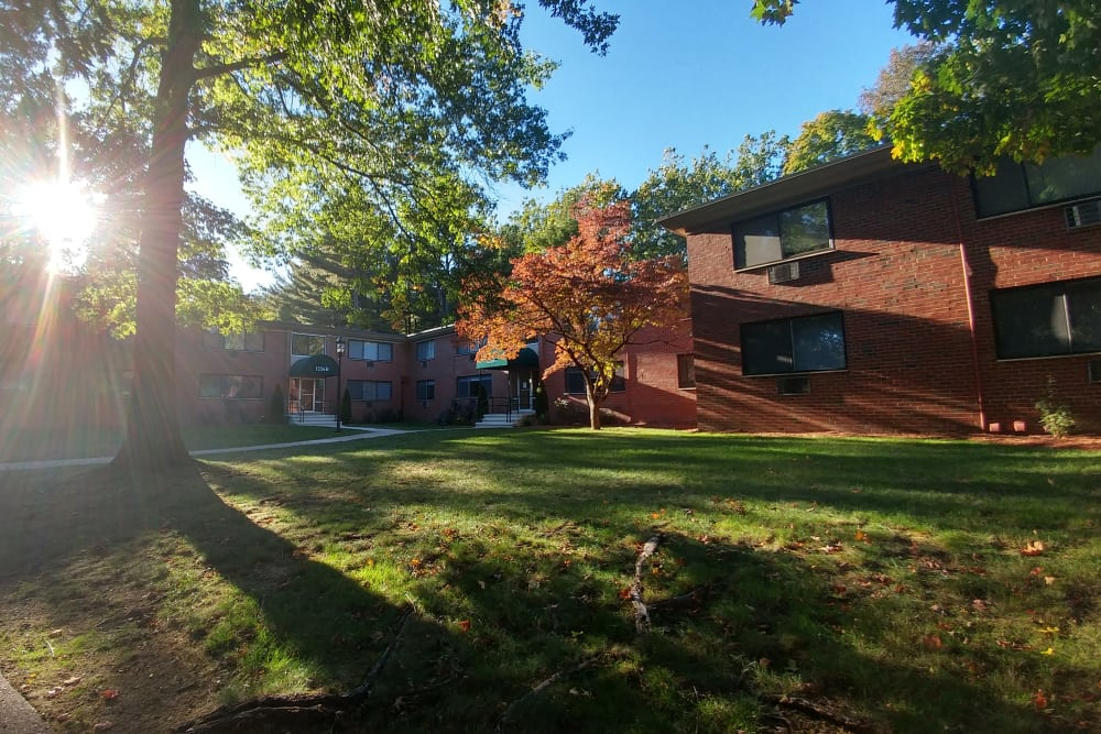 Exterior view of Westgate West Hartford in West Hartford
