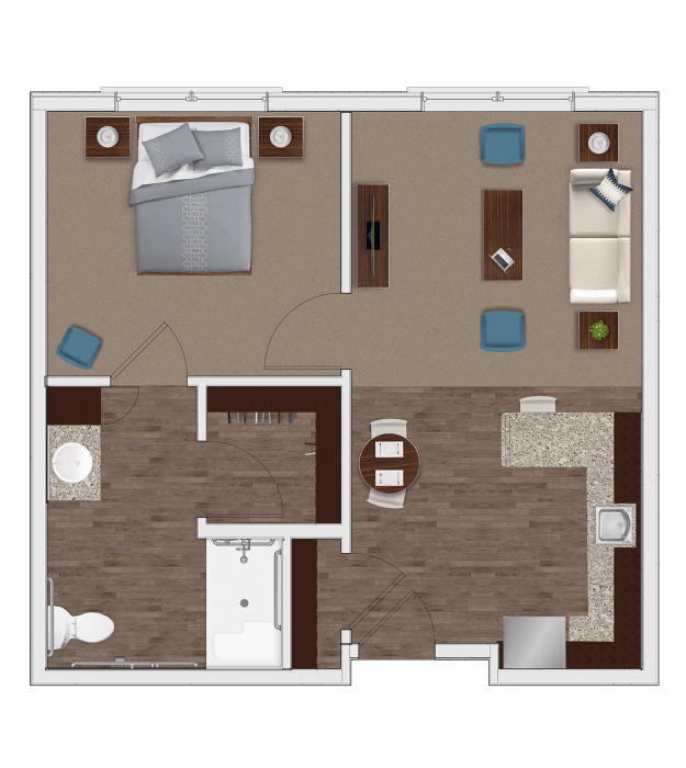 Chapel Hill Apartments Lewisville: Senior Living Floor Plans