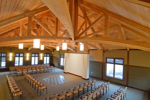 Elegant chapel at The Glenn Minnetonka