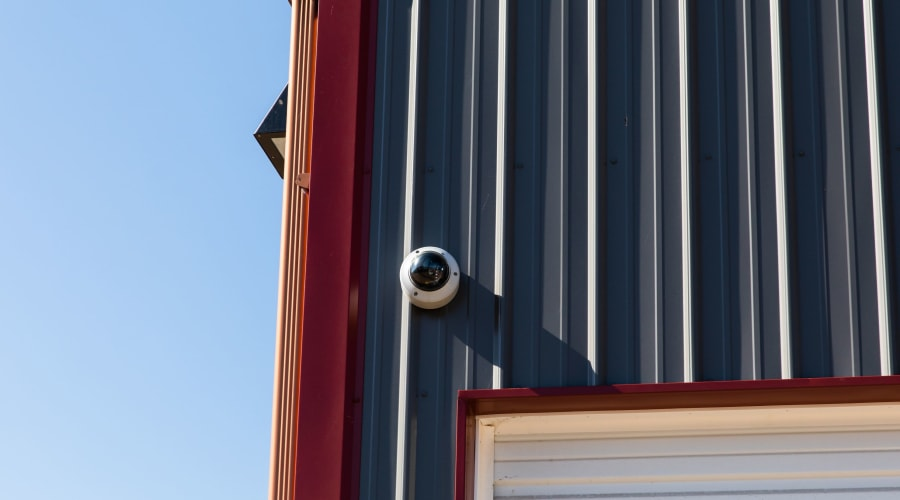 Outdoor security camera at KO Storage of Eau Claire in Eau Claire, Wisconsin