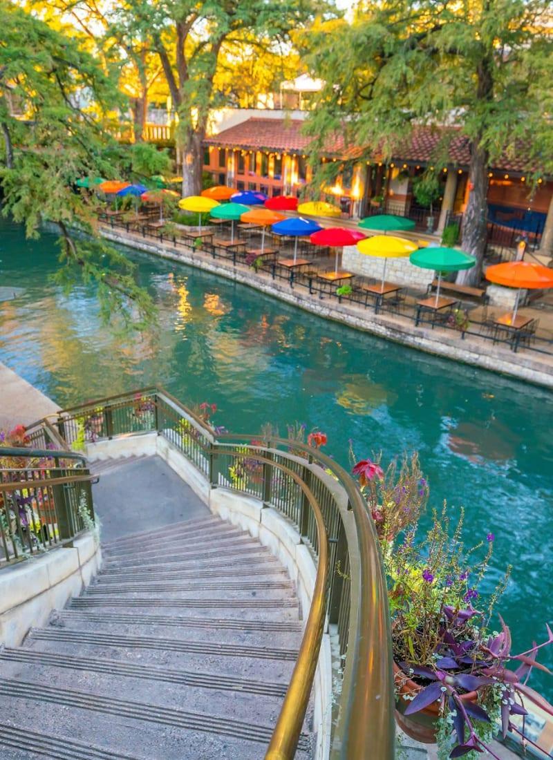 River walk near Marquis at TPC in San Antonio, Texas