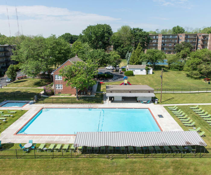 Henry on the Park Apartment Homes offers a swimming pool in Philadelphia, PA