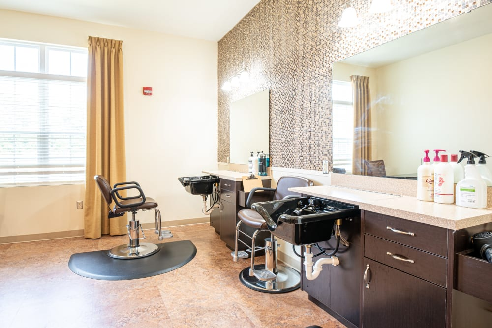 Salon at Harmony at Hope Mills in Fayetteville, North Carolina