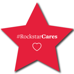 View #RockstarCares at Westport Apartments in Angleton, Texas