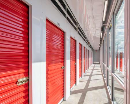 Interior units at StorQuest Self Storage in Redmond, Washington.
