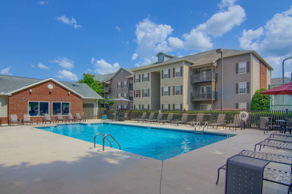 Pool at Lancaster Place in Calera, Alabama