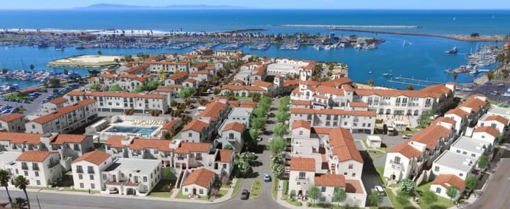 View of Portside Ventura Harbor