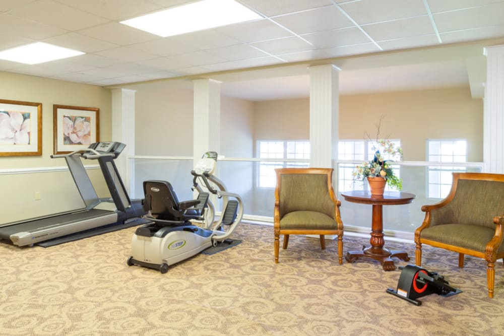 Fitness at The Harmony Collection at Roanoke - Independent Living in Roanoke, Virginia