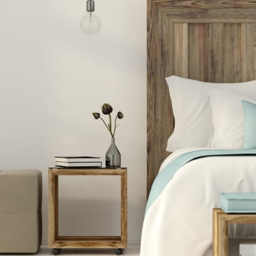 Beautiful bedroom at Maple Glen Apartments Ames, Iowa