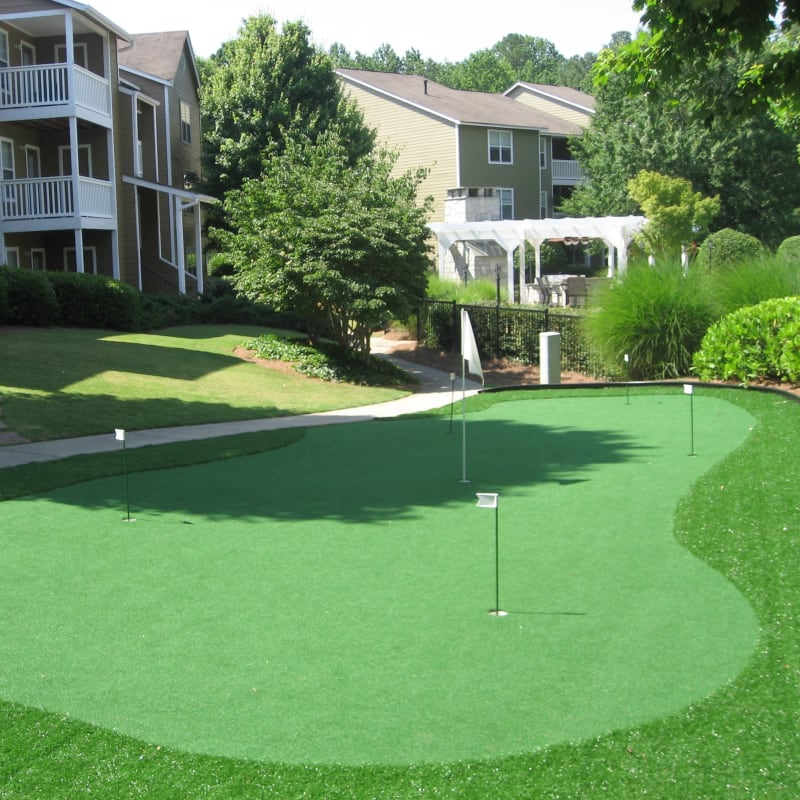 Putting green at Azalea Springs in Marietta, Georgia