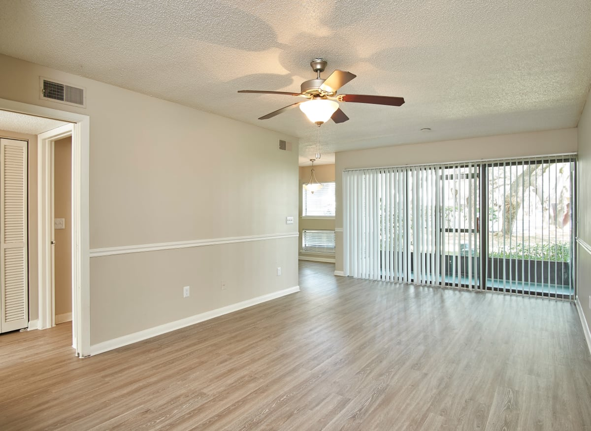 A spacious large living room at Westwood @60 in Brandon, Florida
