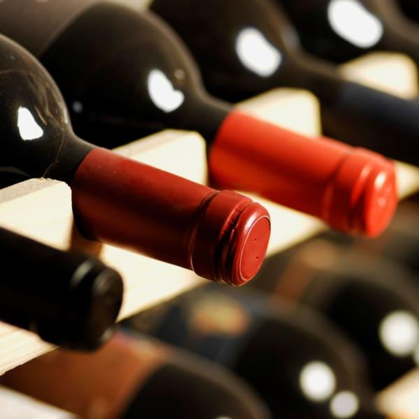 Wine storage at StorQuest Self Storage in Naples, Florida