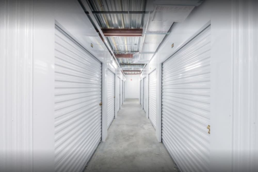 The covered entrance at Storage Units in Saint Cloud, Florida