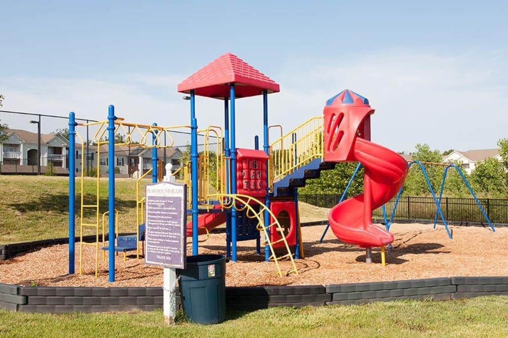 Playground at O'Fallon Lakes in O'Fallon, Missouri