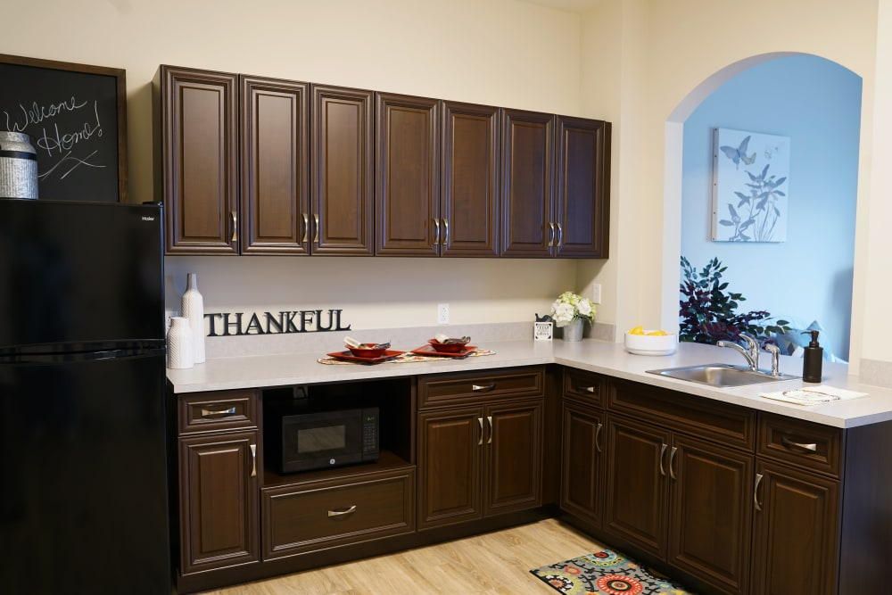 Kitchen at Harmony at White Oaks in Bridgeport, West Virginia