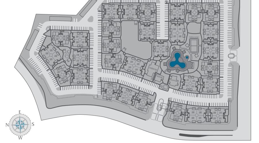 San Palmas site plan